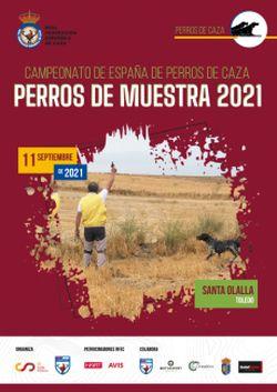 CAMPEONATO DE ESPAÑA DE PERROS DE MUESTRA 2021-2